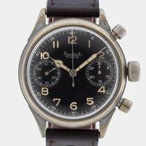 Hanhart Vintage Flyback Chronograph For Luftwaffe / Serviced /...