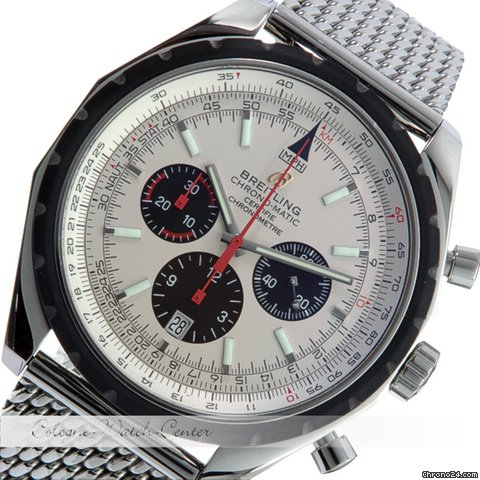 Breitling Chrono Matic Stahl A14360