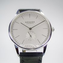 Nomos Glashütte Orion 383 Grau Glasboden
