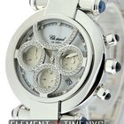 Chopard Imperiale Chronograph 18k White Gold Factory Diamonds...