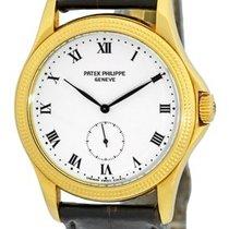 "百達翡麗 (Patek Philippe) Gent's 18K Yellow Gold  ""Calatra..."