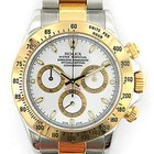 Rolex 18k yellow gold and stainless steel Daytona