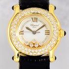 Chopard Happy Sport Flying Diamonds Luxus 18K Gold Lady...