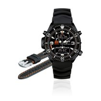 Chris Benz Uhr Taucheruhr Depthmeter Digital SSI-Edition Nr.3...