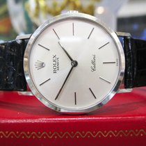 Rolex Geneve Cellini Ref. 4112 18k White Gold Dress Watch...