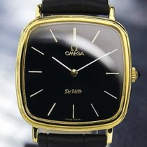 Omega Deville 18k Gold-plated Manual Wind Dress Watch, C.1980s...