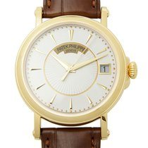 Patek Philippe New  Calatrava Gold White Automatic 5153J-001