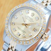 롤렉스 (Rolex) Rolex Gold Diamonds DateJust Automatic Women's...