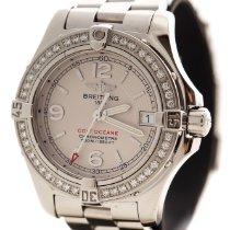 Breitling Colt Oceane Quartz Stainless Steel Diamond Watch A77380