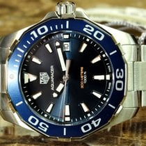 TAG Heuer Aquaracer Divers 300M Blue Box papers warranty card