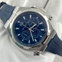 Vacheron Constantin Overseas Chronograph Stainless Steel Blue