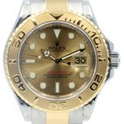 Rolex Yacht-Master 16623 Champagne 18k Yellow Gold Stainless...