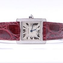 Cartier Tank Francaise Lady White Gold