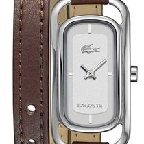 Lacoste Sienna Stainless Steel Womens Fashion Watch Brown...