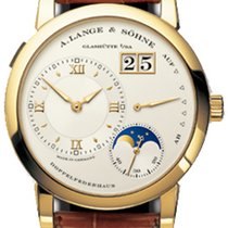 A. Lange & Söhne Lange 1 Moonphase Date 18K Yellow Gold ...