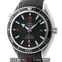 Omega Seamaster Planet Ocean 46mm Steel Black Bezel Caliber 2500