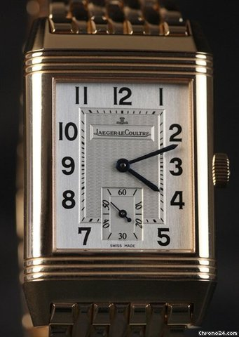 Jaeger-LeCoultre Reverso Grande Taille NEU incl MWST mit Box+Papieren