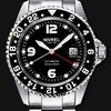 Nivrel Deep Ocean Black GMT