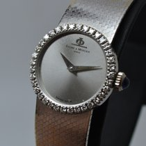 Baume & Mercier 18K White Gold with Diamond Bezel