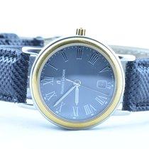 Maurice Lacroix Calypso Damen Uhr Stahl Vergoldet Quartz 25mm 5
