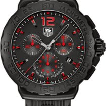 TAG Heuer FORMULA 1 CHRONO 42MM BLACK AND RED DETAILS