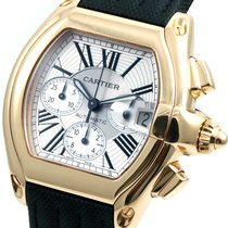 Cartier 18K Yellow Gold XL Chronograph Roadster 2619 model