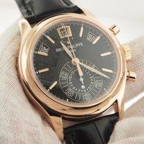 Patek Philippe Rose Gold 5960R Black Dial 5960R-010