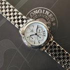 Longines Flagship Chronograph White Dial Date Cal 650