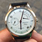 Zenith Class Elite power reserve white gold oro riserva full set