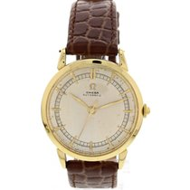 오메가 (Omega) Men's Vintage Omega 18K Yellow Gold Automatic...