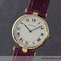 Cartier Lady Ronde 18k (0,750) Gold Damenuhr Klassiker