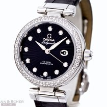 Omega Ladymatic Daimond Setting Ref-4553834 Stainless Steel...