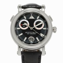 Arnold & Son GMT Timekeeper II, Ref. 1G2AS.B01A.C01B, c.2010