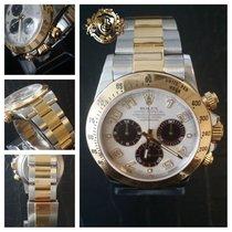 롤렉스 (Rolex) Daytona Steel and Yellow Gold Panda Dial Mint...