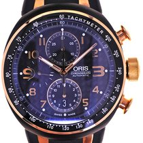 Oris Mans Automatic Wristwatch Chronograph TT3 Bicolor ,