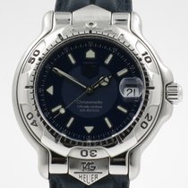 "TAG Heuer ""6000 Series Chronometer Automatic"" Blue..."