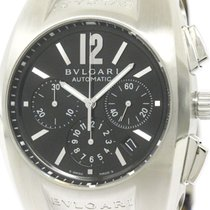 Bulgari Polished  Ergon Chronograph Steel Automatic Mens Watch...