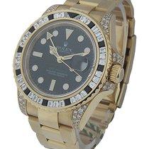 Rolex Unworn 116758SANR GMT Master II - Diamond and Sapphire...