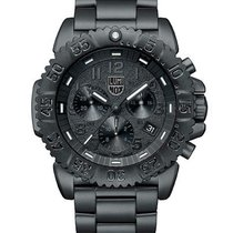 Luminox Mens Black Out Navy Seal Steel Colormark Chronograph -...