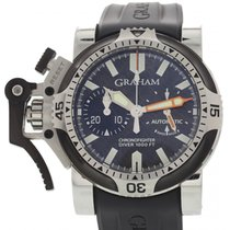 Graham Men's Graham Chronofighter Oversize Stainless Steel...