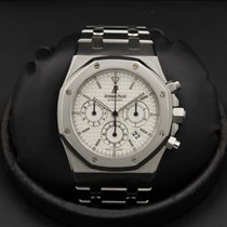 Audemars Piguet - Royal Oak Chronograph - ROC - 25860 - Silver...