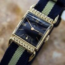 Elgin Rare Unisex Manual Antique Watch Circa 1930 Swiss Driver...
