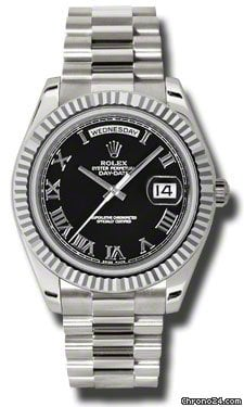 Rolex Day-Date II President White Gold