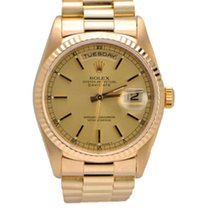 "Rolex ""Presidential"" Day-Date 18k Yellow Gold 18238"
