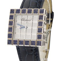 Chopard 13/6858/8-23 Ice Cube Full Pave with Sapphires and...