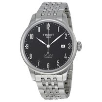 Tissot Le Locle Black Dial Stainless Steel Mens Watch T41148