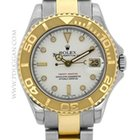 Rolex stainless steel and 18k yellow gold mid-size Yachtmaster