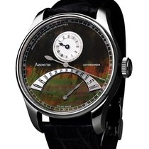 Azimuth Regulateur Retrograde Minutes Rrm Watch Pearl Dial...