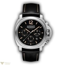 Panerai Luminor Chrono Daylight Stainless Steel Men's Watch