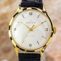 Seiko Super Vintage Rare Gold Plate & Stainless Steel...